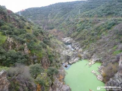 Garganta Picadas_Via Verde Alberche;grupos para caminar por madrid ruta de los almendros senderismo